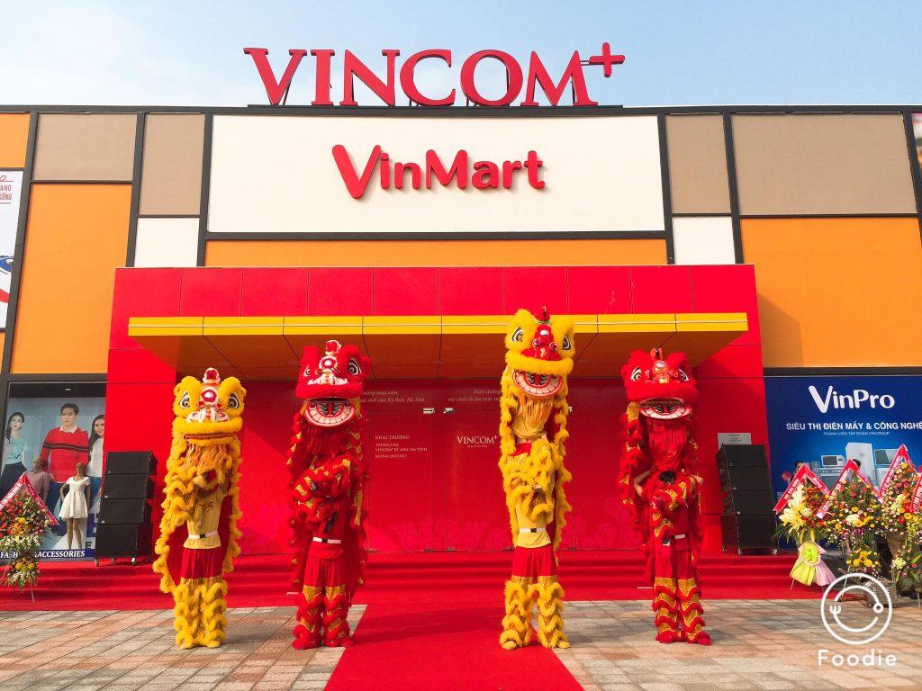Khu mua sắm, vui chơi, giải trí Vincom+