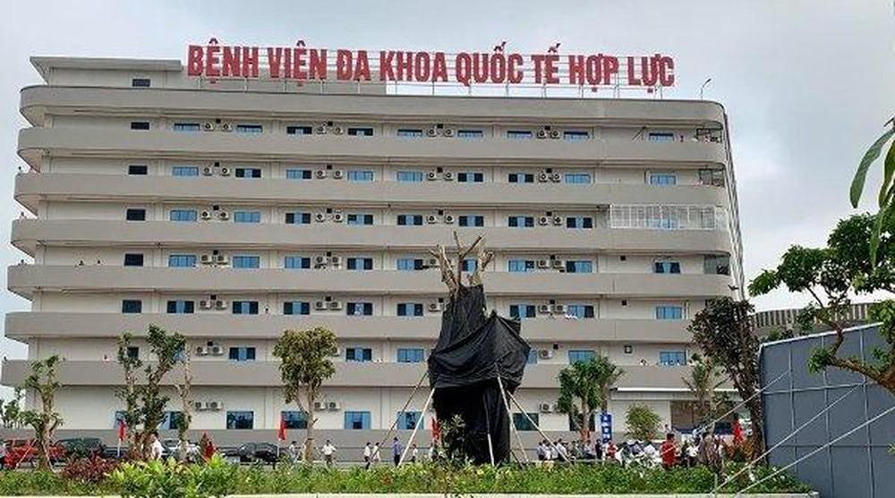 Bệnh viện đa khoa quốc tế hợp lực (vốn đầu tư 700 tỷ đồng)