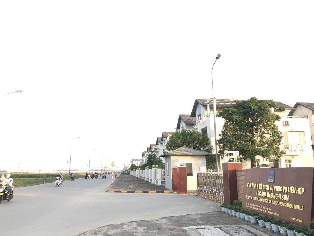 Khu nhà ở và dịch vụ phục vụ liên hợp lọc hóa dầu Nghi Sơn